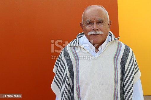 istock Genuine Latin American elder male 1175575064