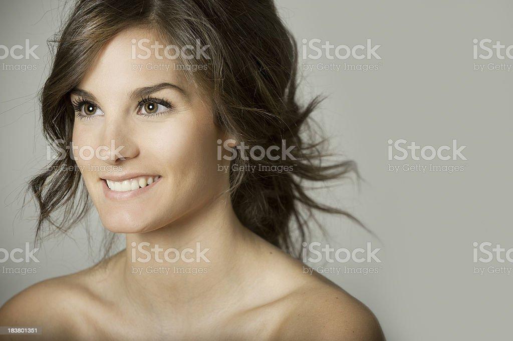 Genuine Smile royalty-free stock photo