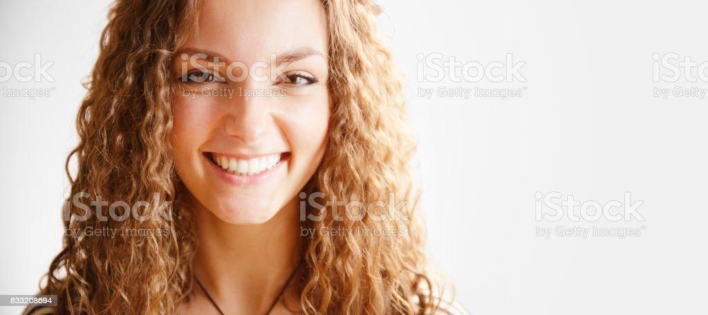 Genuinely Happy stock photo