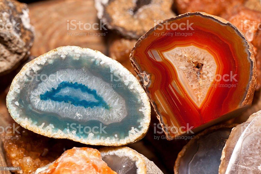 geodes stock photo