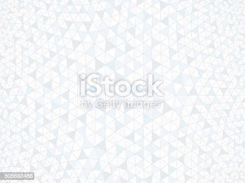 istock Geodesic Abstract Pattern Blue White Technology Futuristic Connection Background 505663486