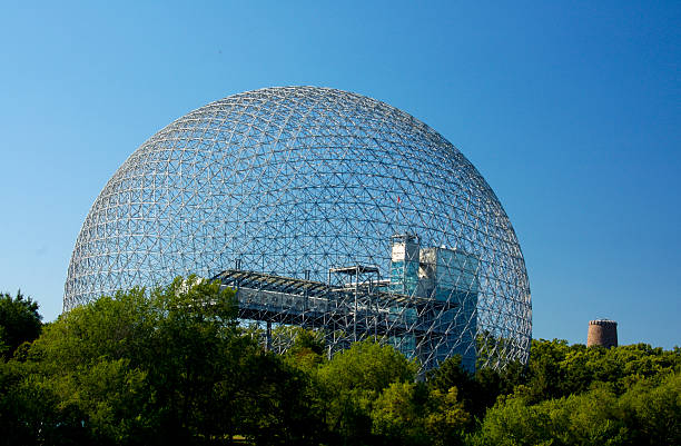 Geodesic  Dome  Building stock photo