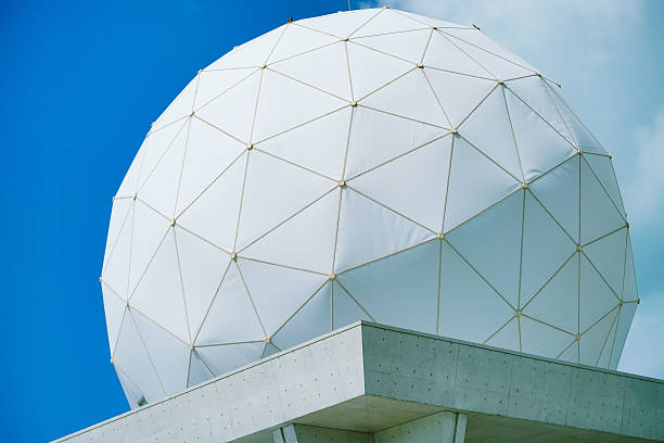 PVC Geodesic Dome stock photo