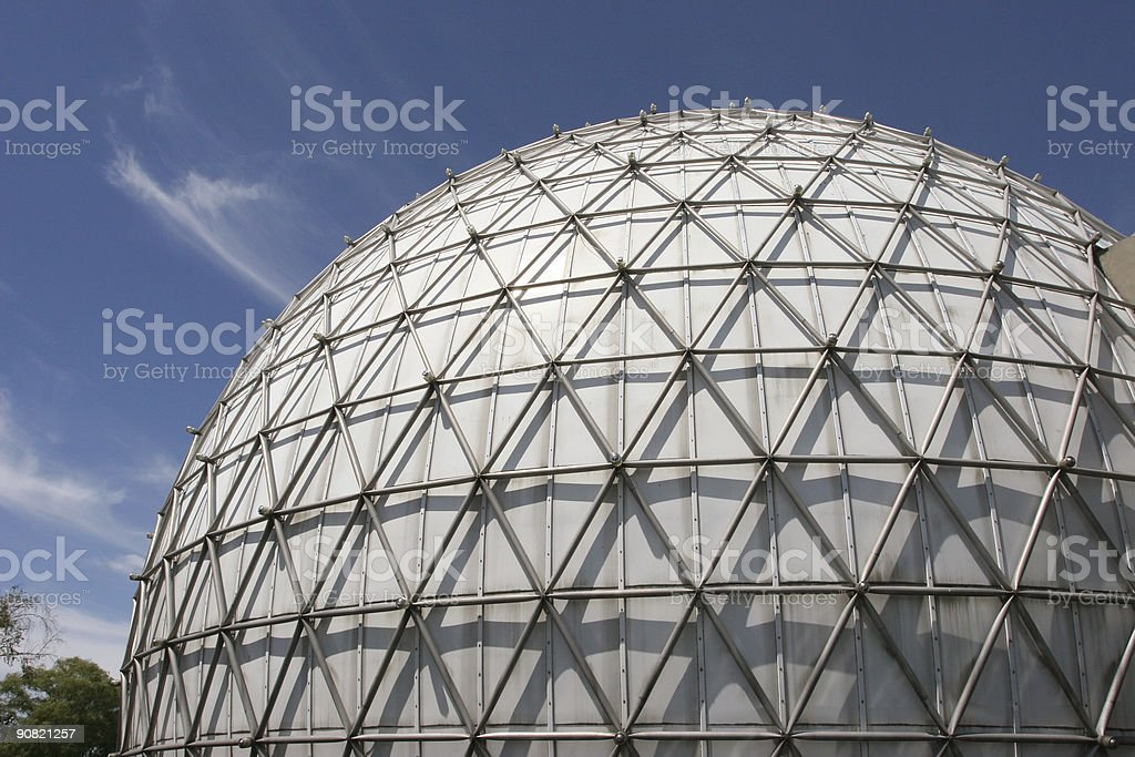 Geodesic Dome royalty-free stock photo