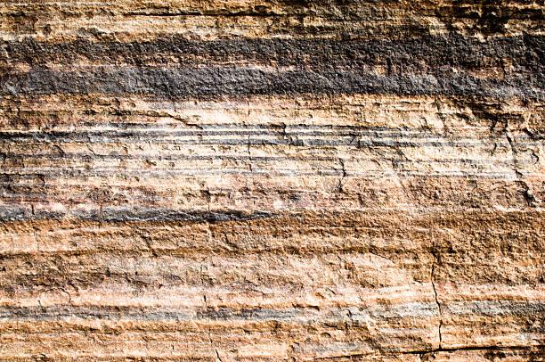 geologiczne warstw - geologia zdjęcia i obrazy z banku zdjęć
