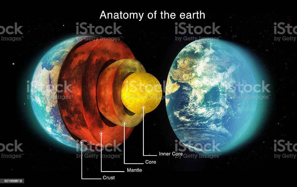 Geological marvel of our planet stock photo