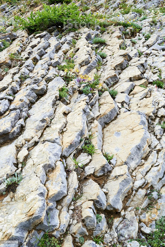 Geological Strata stock photo