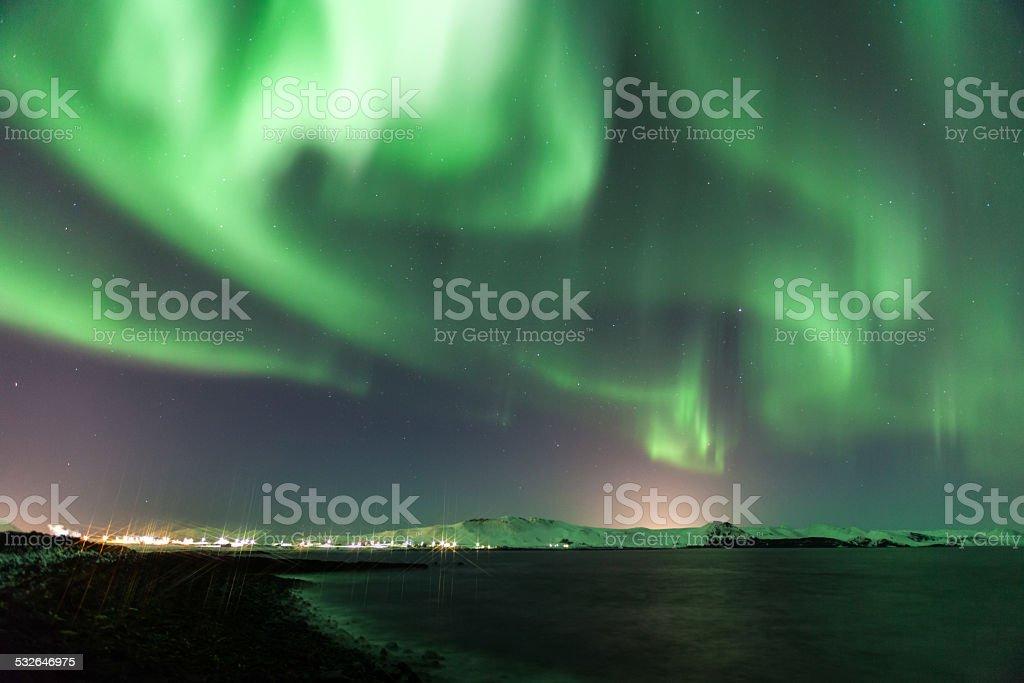 Geomagnetic Storm stock photo
