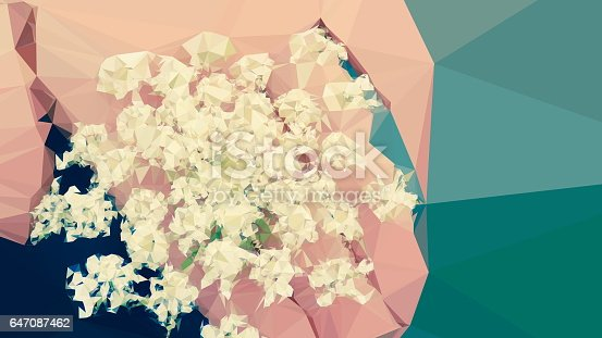 istock Geometric Abstract Florals 647087462