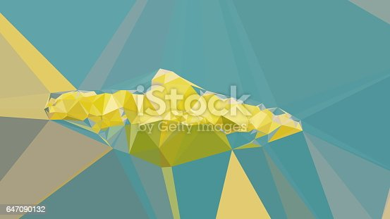 647090632 istock photo Geometric Abstract Florals 647090132