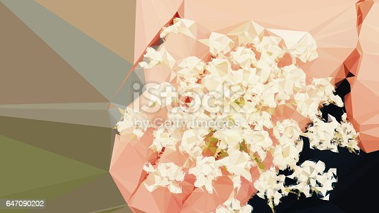 647090632 istock photo Geometric Abstract Florals 647090202