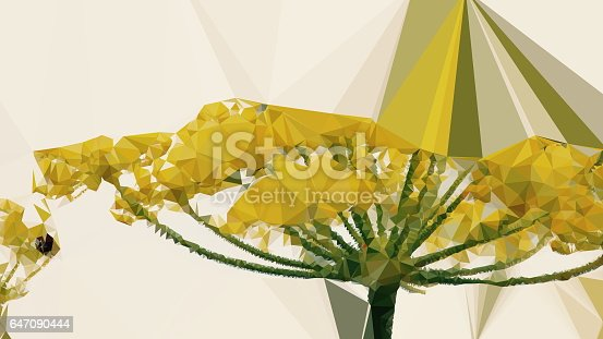 647090632 istock photo Geometric Abstract Florals 647090444