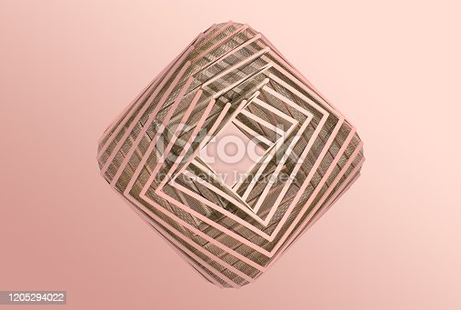 926309124 istock photo Geometric background 1205294022