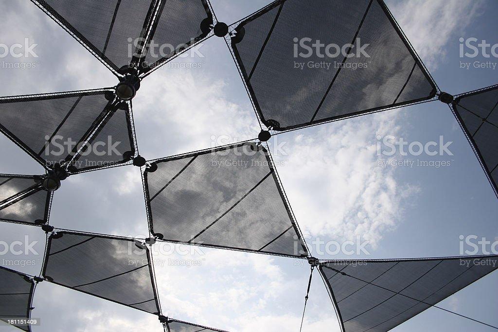Geometric Canvas royalty-free stock photo