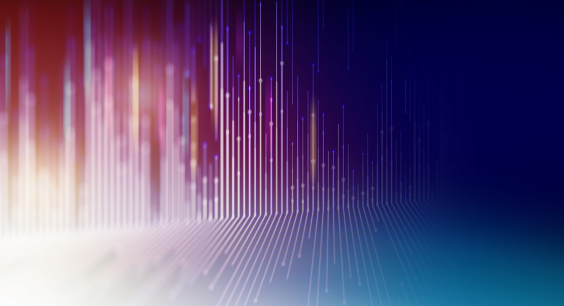 Geometric Colorful Abstract Technology Background.