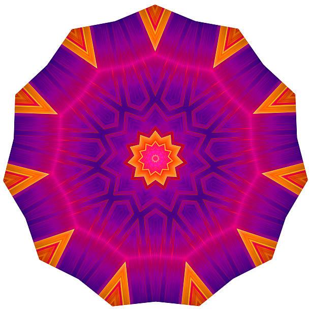 Geometric Decorative Rosette stock photo