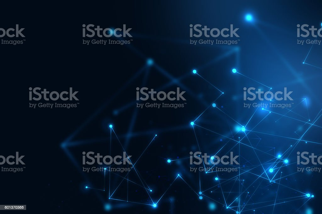 geometric fragment abstract technology background stock photo