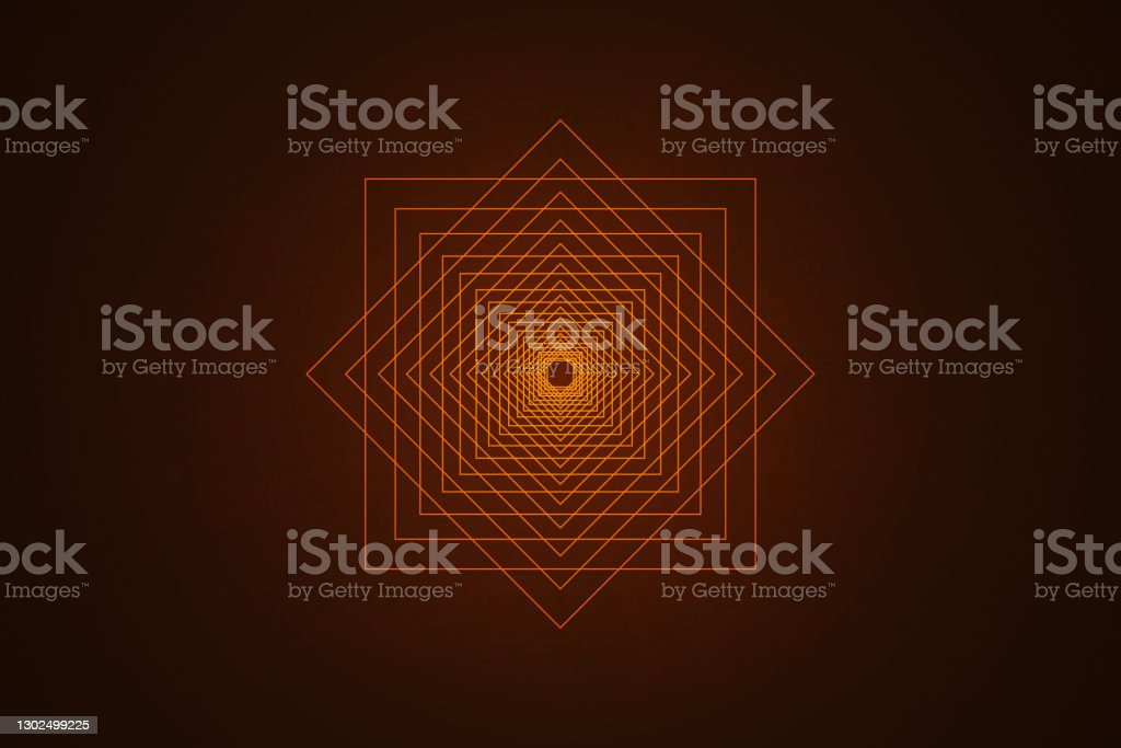 Geometric line art Full frame abstract geometry line art. Abstract Stock Photo