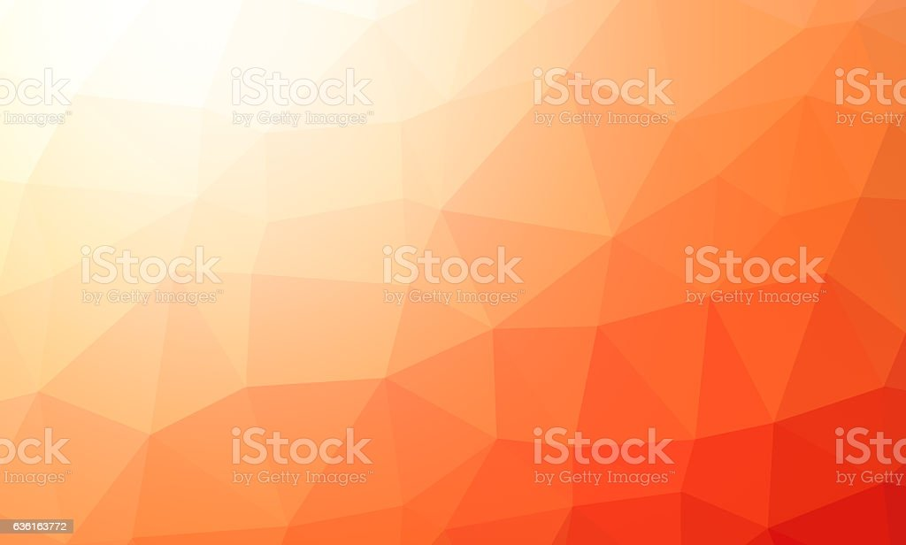 Geometric Low Polygon Abstract Graphic stock photo