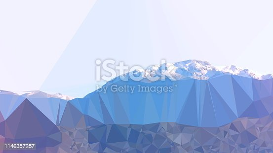 916322742 istock photo Geometric Minimalist Abstract Landscape 1146357257