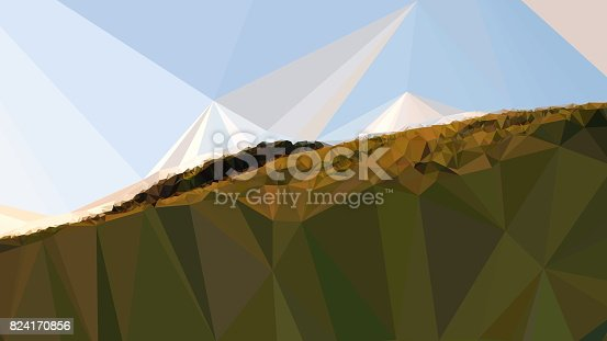 916322742 istock photo Geometric Minimalist Abstract Landscape 824170856