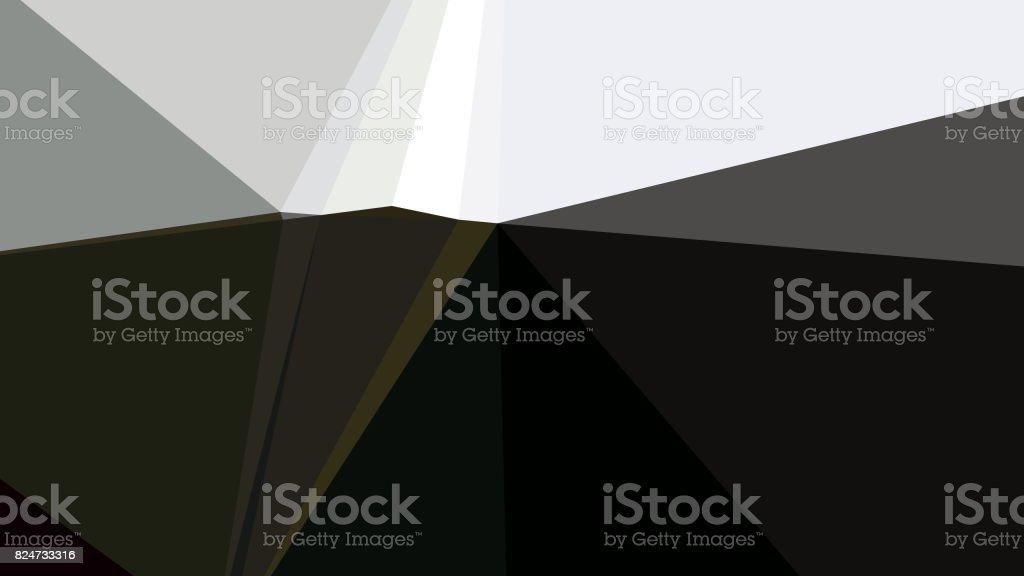 Geometric Minimalist Abstract Mountain stock photo
