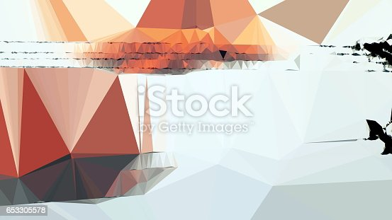 istock Geometric Minimalist Abstract 653305578