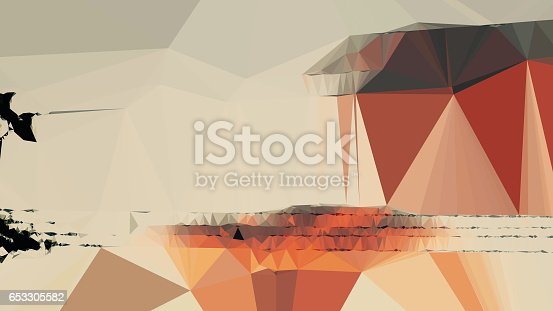 istock Geometric Minimalist Abstract 653305582