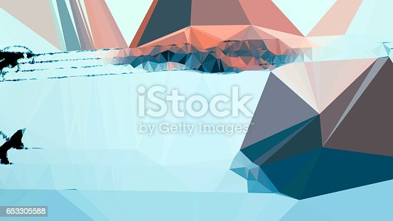 647090632 istock photo Geometric Minimalist Abstract 653305588