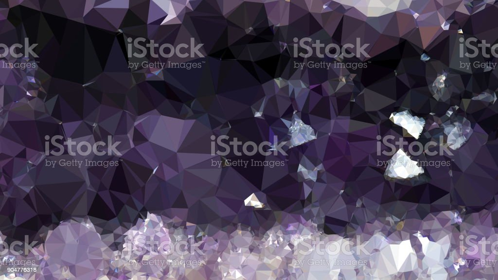 Geometric Mosaic Abstract stock photo