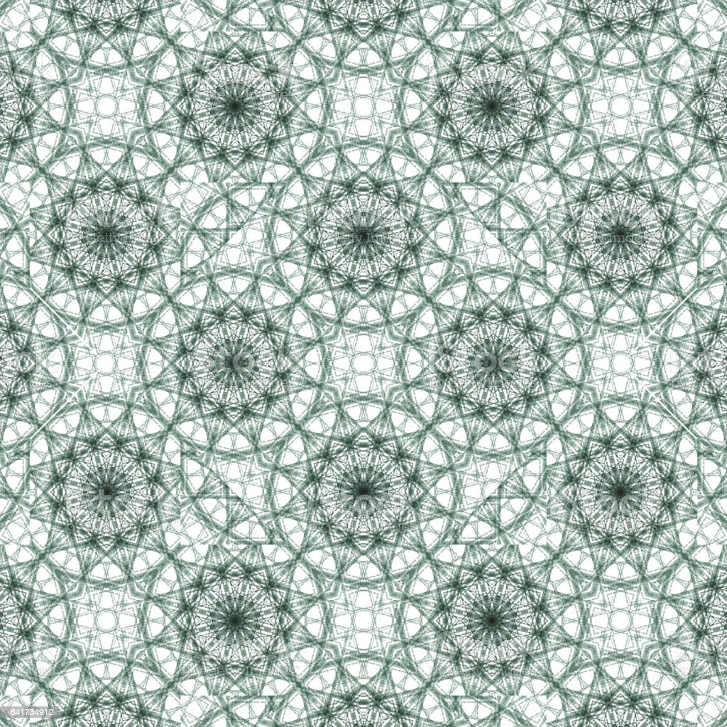 Geometric ornate seamless pattern stock photo