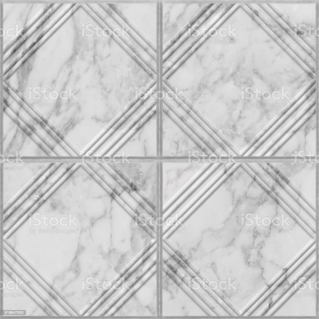 Geometric Pattern On Marble Tile Seamless Texture Stock Photo & More ...