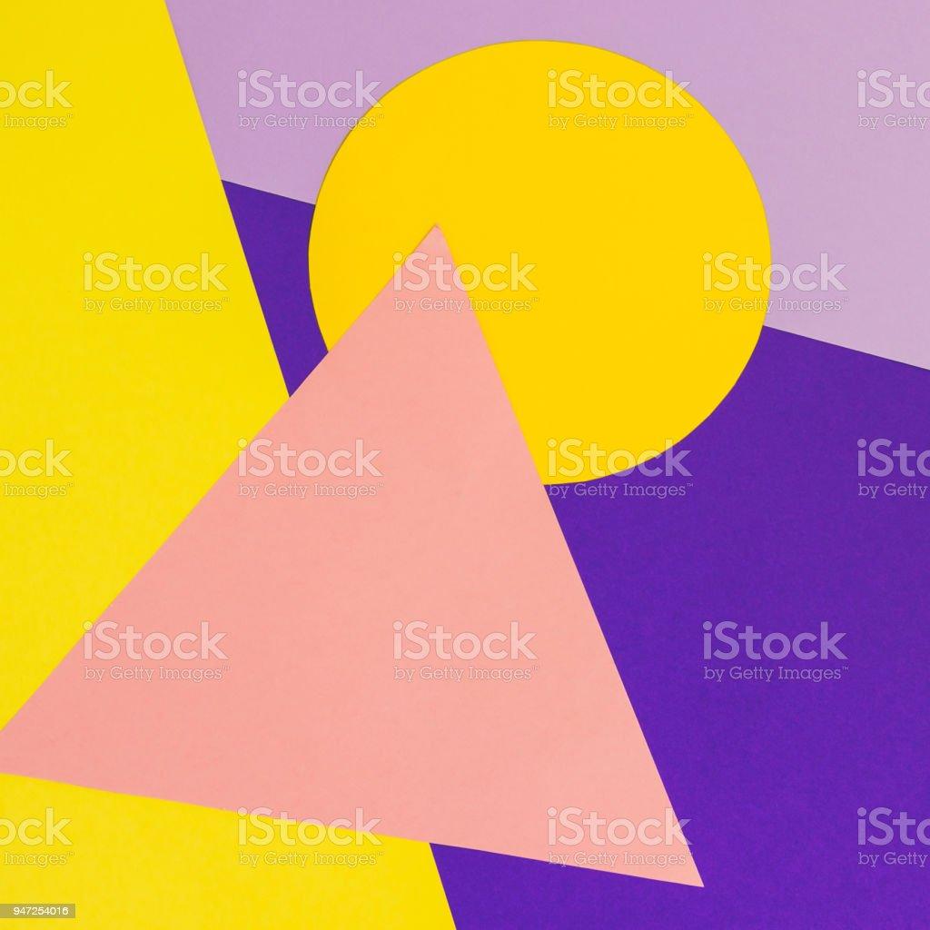 geometric pattern papers stock photo