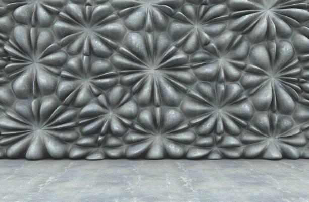 motif géométrique mur - motif ornemental photos et images de collection