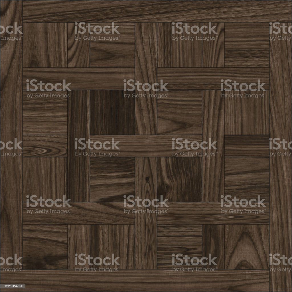 Geometric Pattern Wooden Floor And Wall Mosaic Decor Tile Stock Photo    Download Image Now