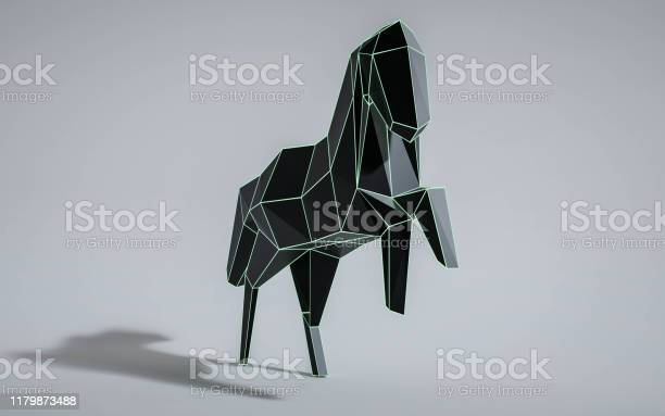 Geometric polygon abstract wireframe black and turqouise horse 3d picture id1179873488?b=1&k=6&m=1179873488&s=612x612&h=eb lsbbkjtwgyawfgsk2uaxy 9ku9i1hfhptuxpxh 4=