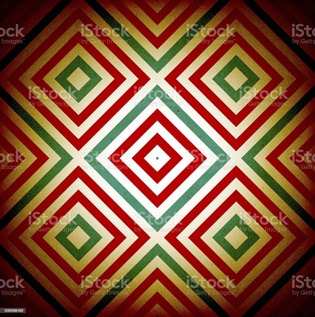 Geometric seamless background stock photo