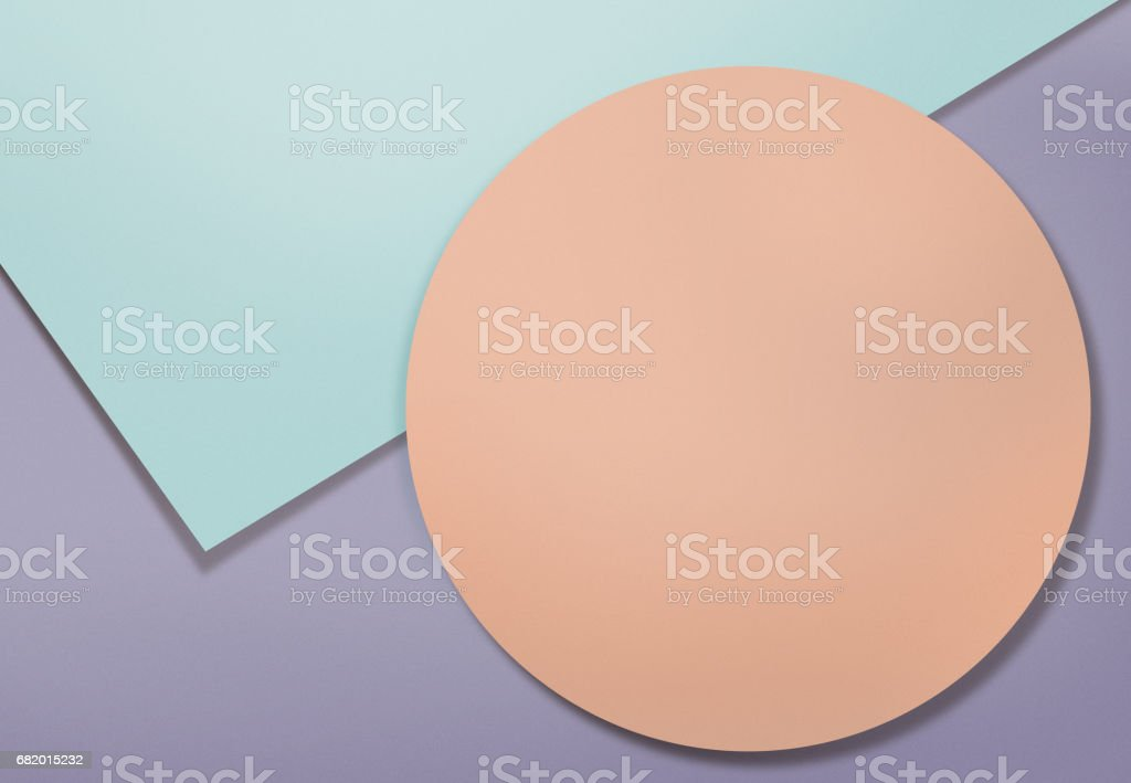 Geometric shapes background stock photo