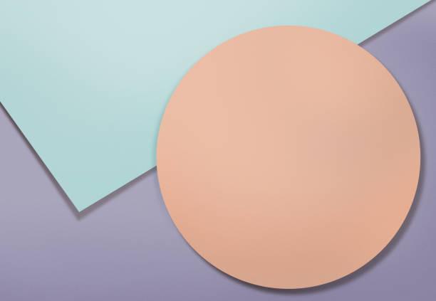 Geometric shapes background stock photo