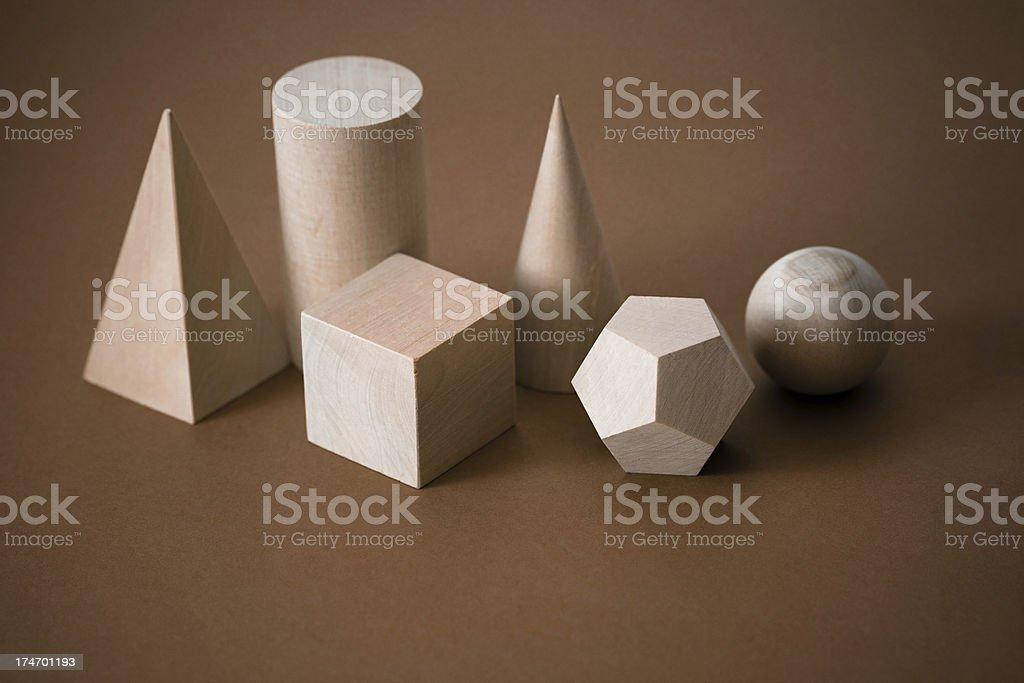 Geometric shapes royalty-free stock photo