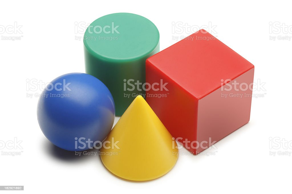 Geometric Shapes royalty-free stock photo