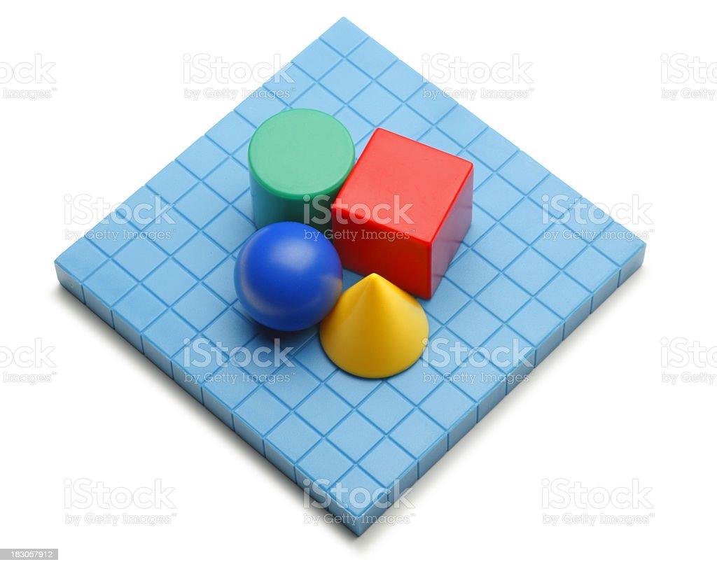 Geometric Shapes stock photo