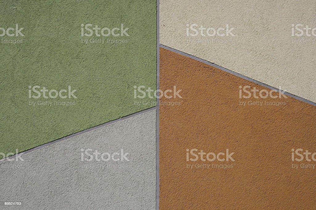 Geometric Wall Background royalty-free stock photo