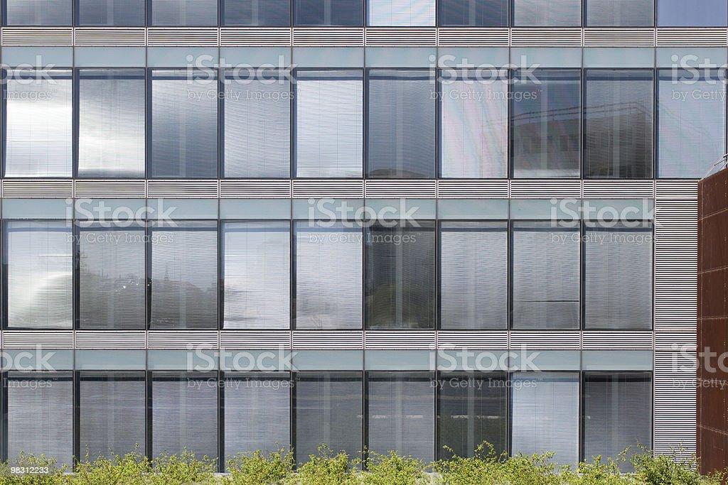 Geometric windows texture royalty-free stock photo