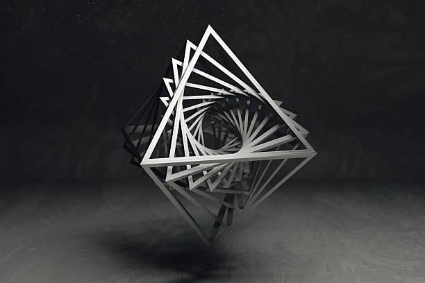 concetto di arte geometrico - balance graphics foto e immagini stock