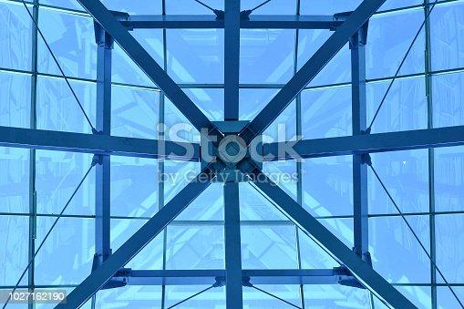 geometrical ceiling