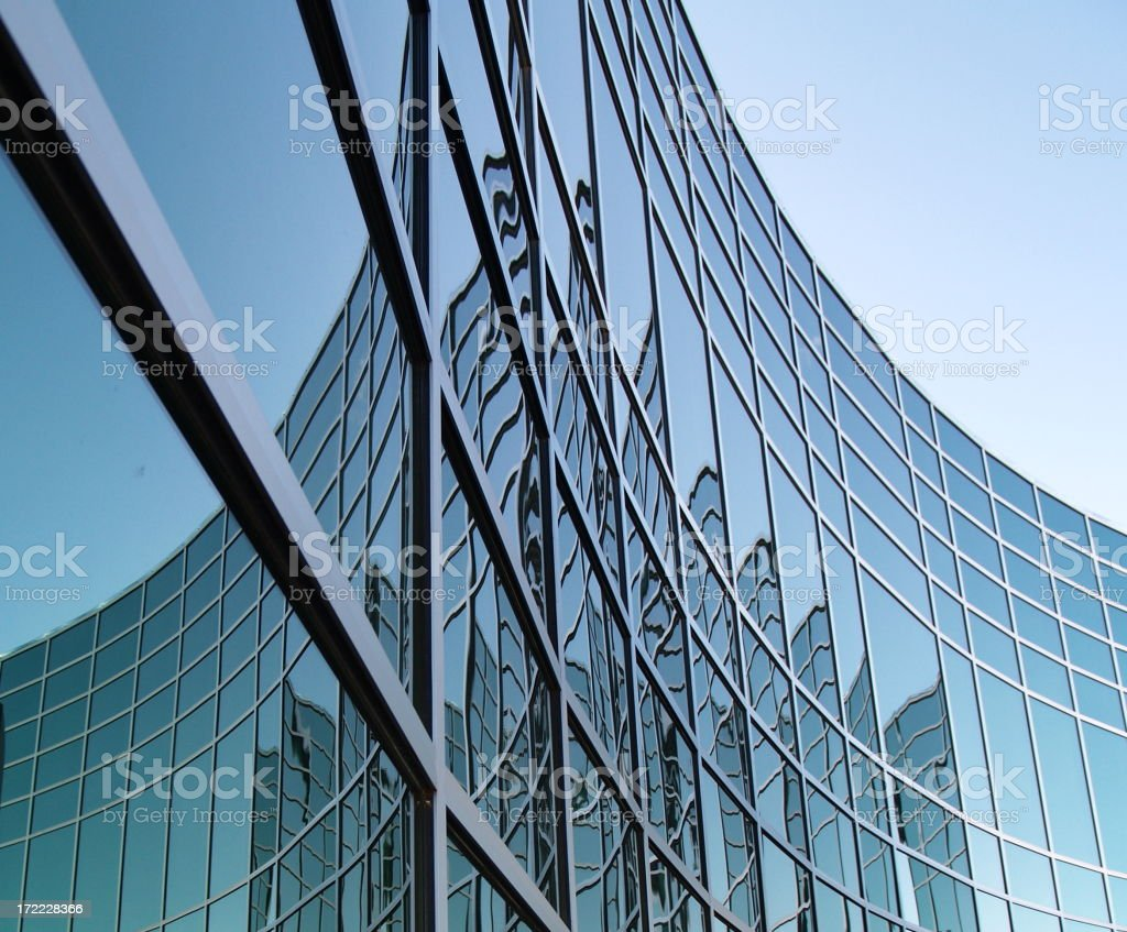 Geometrical Office Space royalty-free stock photo