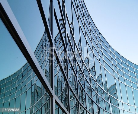 istock Geometrical Office Space 172228366