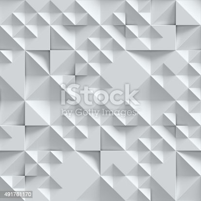 istock geometrical seamless 3d background 491761170