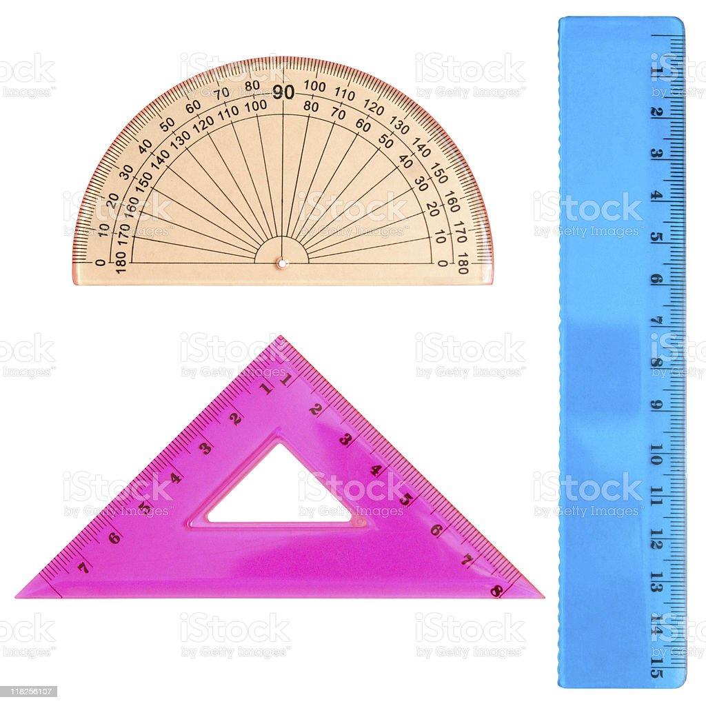 geometrical set royalty-free stock photo